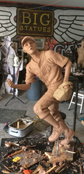 Big Statues Completes Short-Stop Statue for the Little League World Series