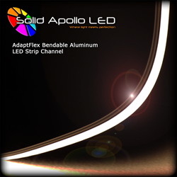 AdaptFlex bendable LED Light Channel