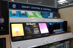 Find ilumi on the shelves at BestBuy in the Smart Lighting & Control section.