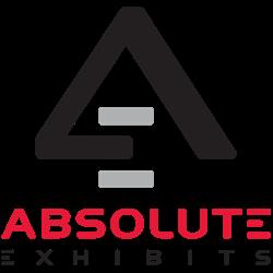 absolute exhibits logo, custom exhibit, exhibit design, exhibit rental, trade show exhibits