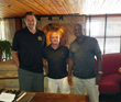 Pro Player Health Alliance CEO David Gergen and Roy Green Meet with Matt Fish, President of NBRPA Phoenix Chapter to Discuss Former Player Health Improvement Plans