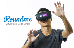 ROUNDME BREAKS INTO THE PROFESSIONAL 360 VR VISUALIZATION MARKET WITH BOLD NEW FEATURES