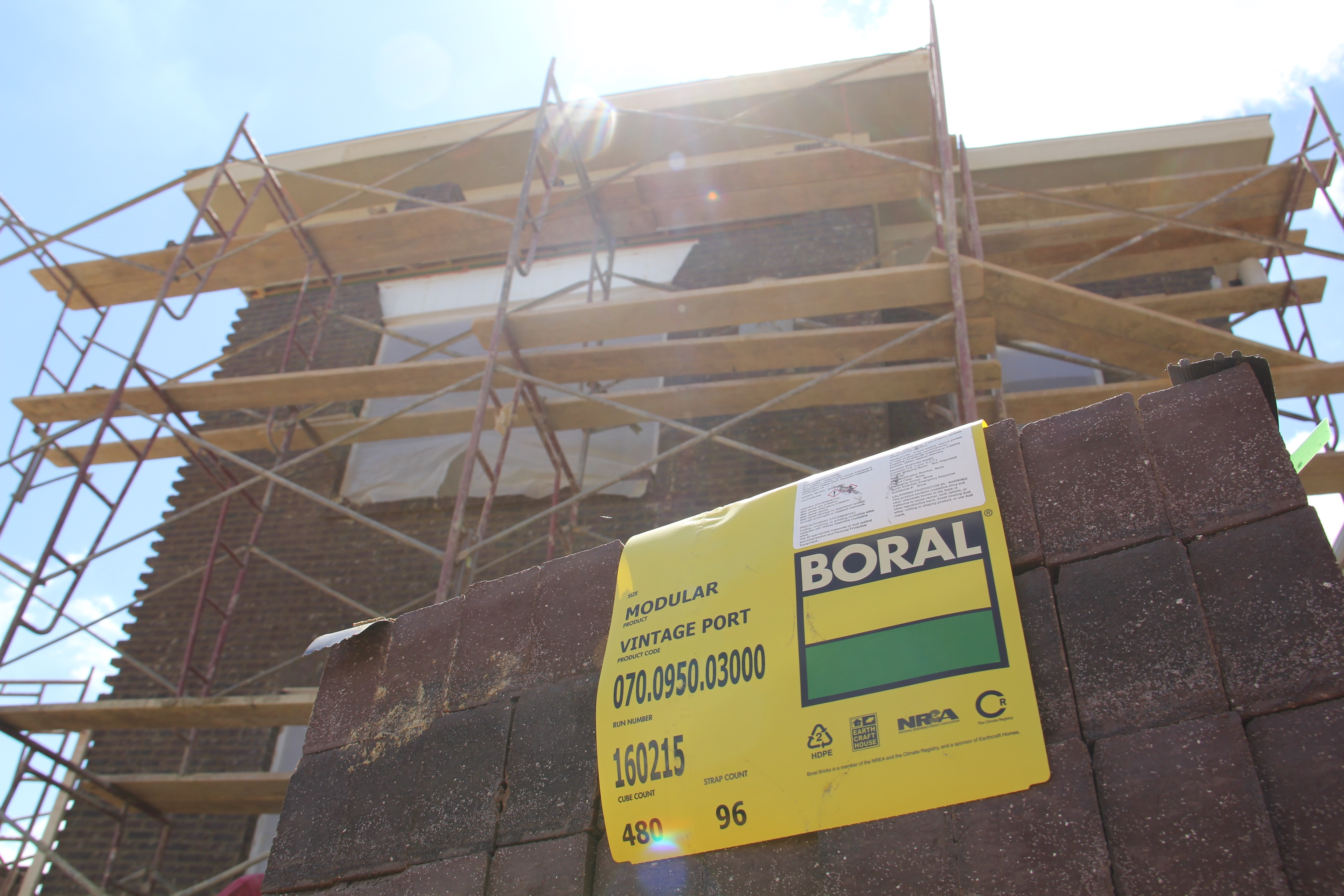 Boral 174 Usa Contributes Terre Haute Collection Brick To The