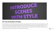 Final Cut Pro X Plugin - Minimal Slideshow - Pixel Film Studios