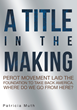 "Patricia Muth's new book ""A Title in the Making: Perot Movement Laid the Foundation to Take Back America. Where Do We Go From Here?"" is a plea for America to ""wake up."""