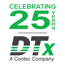 CONTEC DTx 25th Anniversary Logo
