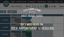 Dock appointment scheduling