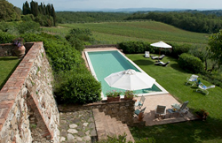Villa Alfieri in Tuscany, Italy