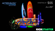 LED Wakeboard, LED Snowboard, Action Glow, LED Snowboard Lights, Snowboard Lights