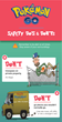 Infographic Illustrates Tips for Pokémon GO Safety