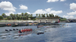 The Riverfront Park boathouse will be Tampa's first, providing storage space and access for crew teams as well as public boat rentals and storage for a variety of paddle-powered craft (courtesy of W A