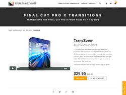 Pixel Film Studios Plugin - TransZoom - FCPX