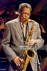 Jazz musician Charles Davis, on tenor saxophone May 11, 2012