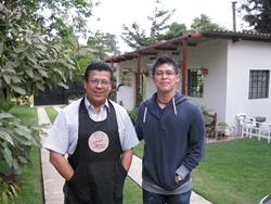 Guatemalan Q Graders Jorge De Leon and his son Jorge De Leon Ovalle
