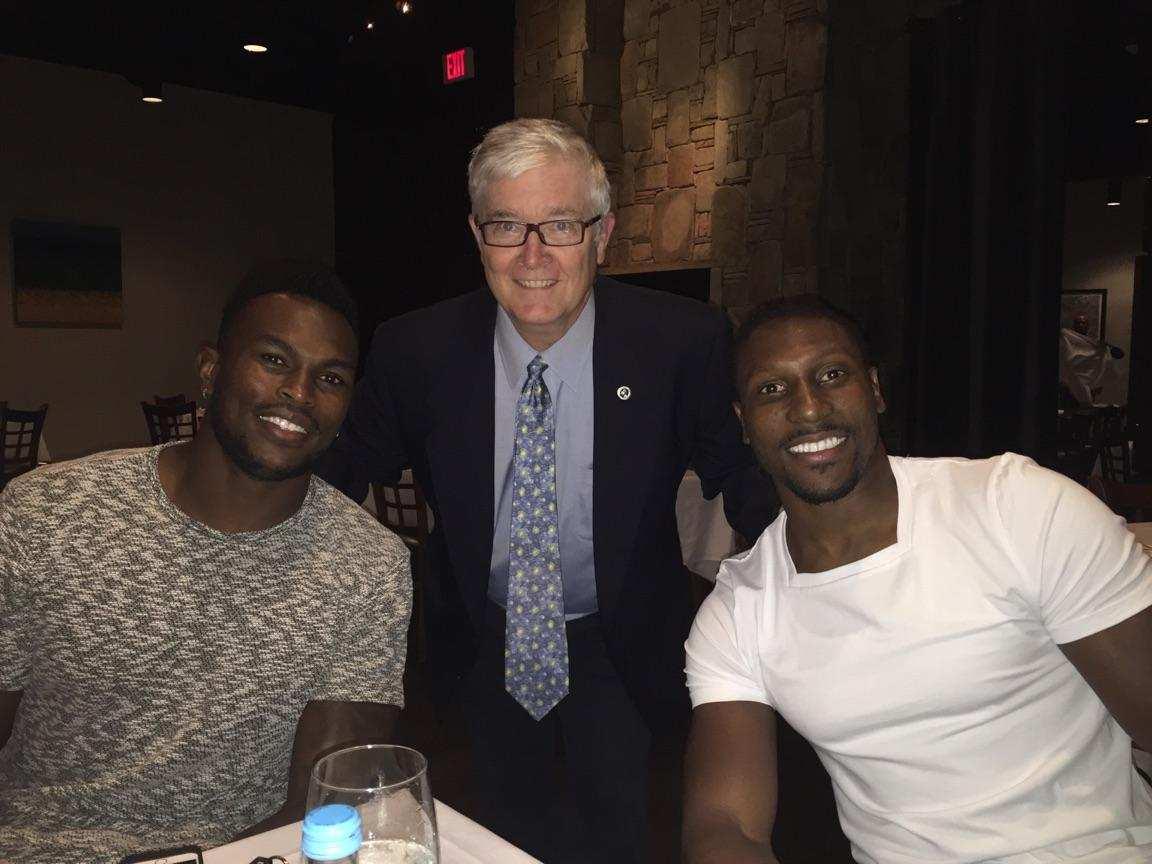 NFL Superstars Julio Jones And Roy Green Benefit Players ...  Julio