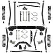 Rock Krawler X-Factor Long Arm Suspension Kit for Jeep Wrangler JK