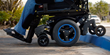 Innovative Power Wheelchair Suspension created by Sunrise Medical