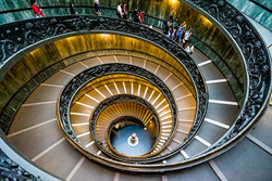See the Bramante Staircase with Insight Vacations
