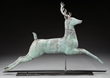 LEAPING STAG WEATHERVANE, estimated at $10,000-15,000.