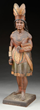 CIGAR STORE INDIAN PRINCESS TRADE FIGURE, estimated at $45,000-65,000.