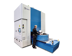 The Quintus hydroform deep-draw press gives EMI a unique, versatile process allowing it to form parts of tough, complex-shaped metal alloys for jet engine producers such as General Electric and Honeywell.