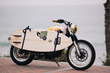 "British Customs Announces Controls And Ergonomics Upgrades Used On Bespoke Custom ""Beach Sled"" Motorcycle Built With Chippa Wilson"