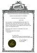 Next Generation Dental Trademark Certificate