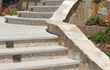 Stone Tiles are great for a finished look on landscaping and stairs