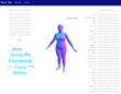 Body Talk: A New Crowdshaping Technology Uses Words to Create Accurate 3D Body Models