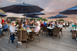 Top of Newport, Hotel Viking's rooftop bar and kitchen, is a popular spot for ice cold beverages and tasty menu items.