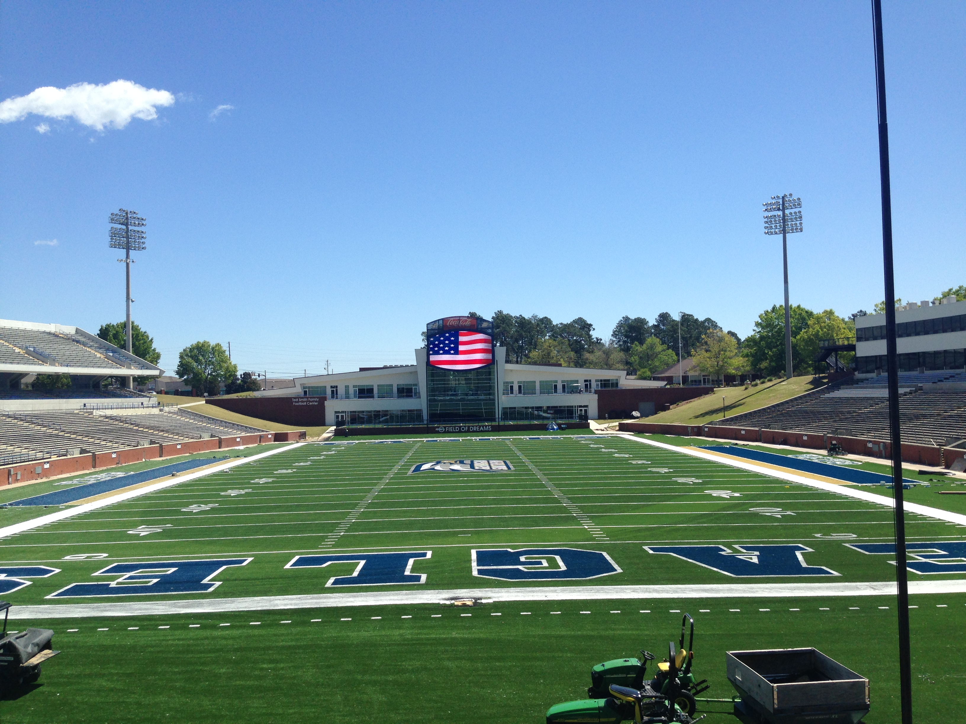 Study Leads To Turf Installation At Georgia Southern