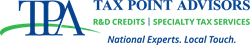 Tax Point Advisors' Logo - R&D Tax Credits | Specialty Tax Services