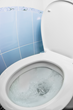 This invention puts a flush pedal on the bottom of the toilet, preventing germs from spreading through unwashed hands.