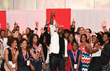 Coca-Pay It Forward Academy celebrity ambassador Tyrese Gibson shares insights and celebrates with teens at this year's closing ceremony.