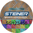 Steiner Sports Unveils New Authentication Program