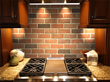 Royal Thin Brick backsplash