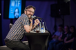 WTF with Marc Maron live at LA Podfest 2015. Marc Maron. Photo credit: Liezl Estipona.