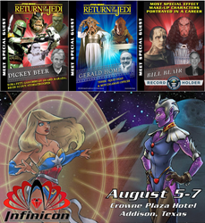 Celebrity Guests for Infinicon 2016