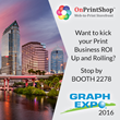 Graph Expo 16 - OnPrintShop Web2Print Solutions to Unveil Unified Advanced B2B nConnect & V5.3