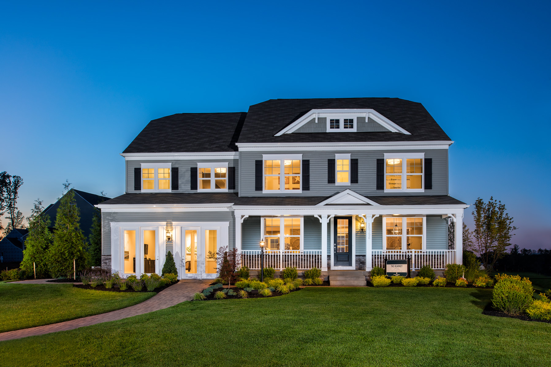Stanley martin homes debuts their newest home designs in for Stanley home designs