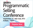 min Announces Programmatic Selling Conference for Publishers; To Be Held September 14 in NYC