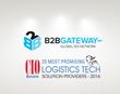 B2BGateway, Global EDI Provider Named to CIOReview's 20 Most Promising Logistics Tech Solution Providers 2016