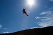 A plunging Vail Valley zipline ride is a part of both of Antlers at Vail's new late summer Colorado lodging and adventure packages (courtesy of Zip Adventures).