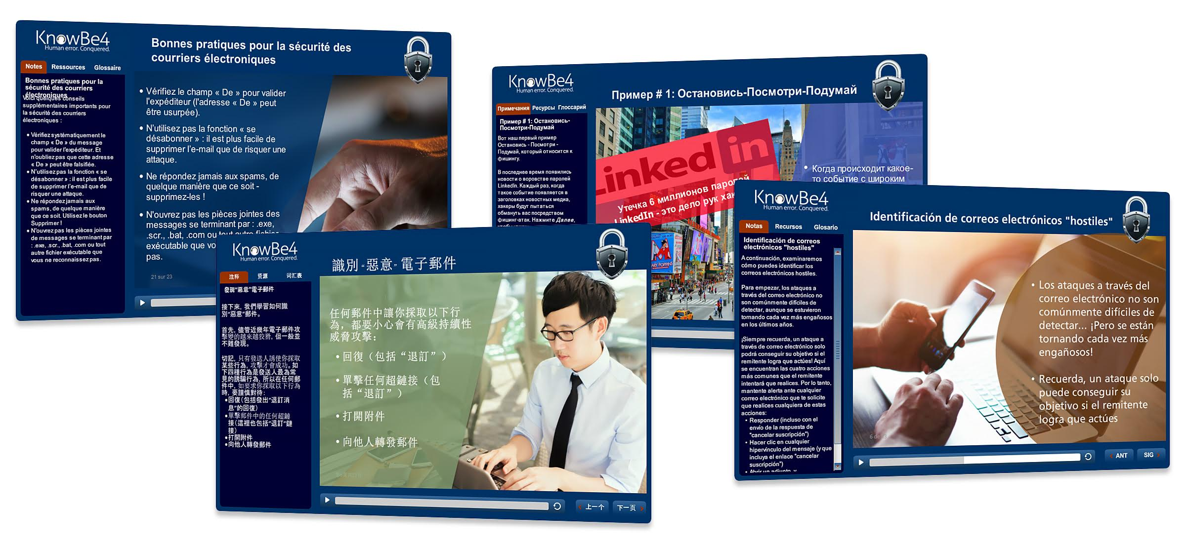 KnowBe4 Makes Security Awareness Training Available in 26 Languages