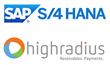 HighRadius Accelerators Achieve Certified Integration with SAP® Applications on SAP S/4HANA®