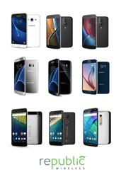 WiFi Calling innovator Republic Wireless expands product portfolio to include latest Android Smartphones from multiple manufacturers.