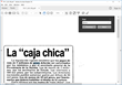PDF OCR searchable PDF in Spanish