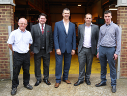 Focus SB Ltd's new senior management team July 2016
