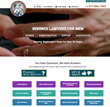 Divorce Lawyers for Men Announces the Launch of New and Improved Website