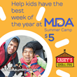 Casey's General Store Helps Send Kids with Muscular Dystrophy to MDA Summer Camp